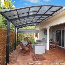 Al Awnings Cape Town Aluminum Patio Covers Porch Awnings Sunshield Patio Canopy