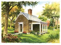 southern raised cottage house plans
