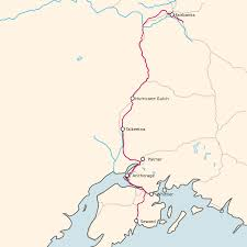 Alaska Route Map by Hurricane Turn Wikipedia
