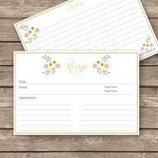 printable recipe cards 4 x 6 recipe cards 4x6 zoplar dcbuscharter co