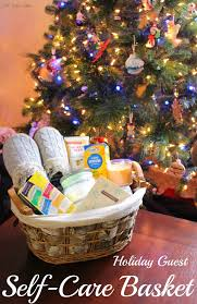 Postpartum Gift Basket Holiday Guest Self Care Baskets Little Mama Jama