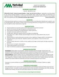 nurse aide resume unforgettable nursing aide and assistant resume