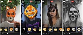 facebook live gets spooky face filters for halloween u2022 likethefuture