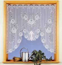 tende con drappeggio heimtexland tenda a fili con arco a forma di m altezza 110 cm