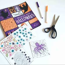 Halloween Craft Books Decorate Your Halloween An Coloring Book Of Halloween
