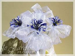 wedding bows wedding florist palm wedding flowers by le jardin florist