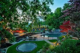 Natural Playground Ideas Backyard In Ground Trampoline For The Backyard U2013 Super Fun Outdoor