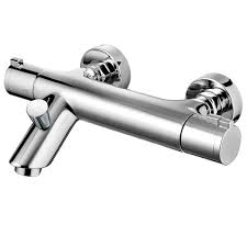 pegler yorkshire haze thermostatic wall mounted bath shower mixer with kit
