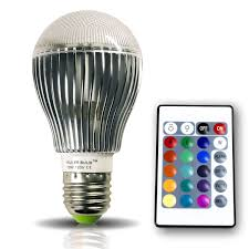 Remote Control Led Light Bulb by Brightech Store The Original Kuler Bulb U2013 10 Watt Color