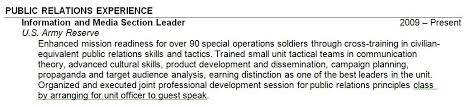 nonsensical military experience on resume 16 10 resume exle resume list skill or knowledge risk manager cover letter plant