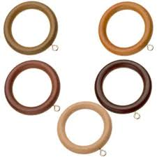 swish naturals wooden curtain rings
