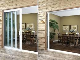 Patio Doors Exterior Glass Pocket Door Extraordinary Pocket Glass Door Design Patio