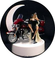 harley davidson wedding cake toppers hispanic american w harley davidson motorcycle bike