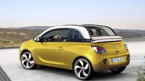 vauxhall adam price opel vauxhall adam cabrio confirmed on sale late 2014