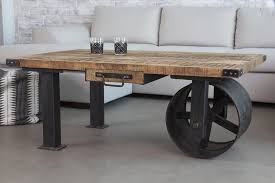 Kitchen Table With Wheels by Best Industrial Coffee Tables With Wheels For Your Inspiration To