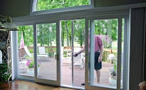 French Doors With Opening Sidelights vented storm door images door design ideas