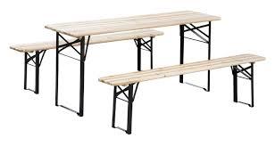 andover mills baumgarten 3 piece outdoor folding picnic table set