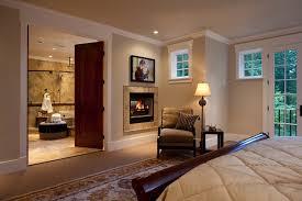 master bedroom fireplace interior design