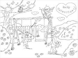 pingalee be my valentine coloring game printable coloring