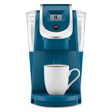 keurig 119438 plus series k200 brewer peacock blue