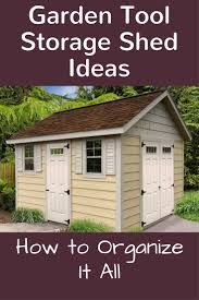 Garden Shed Floor Plans Garden Tool Storage Shed Ideas And How To Organize It All