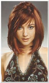 haircuts in layers medium bob haircuts with layers and side bangs also highlight best
