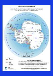 Antartica Map East And West The Geography Of Antarctica Operation Icebridge