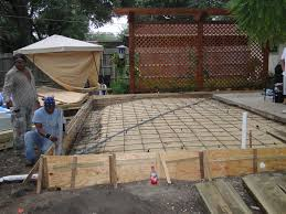 concrete patios easter concrete construction our work easter