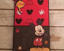 Mickey Mouse Photo Album Disney Photo Album Etsy