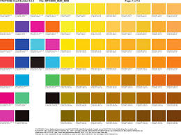 doc 600630 pantone color chart template u2013 9 pantone color chart