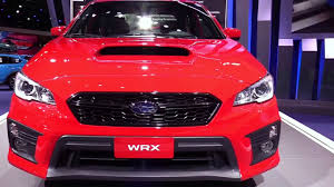 subaru wrx red 2018 subaru wrx limited red features exterior and interior
