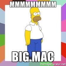 Meme Generator For Mac - mmmmmmmmm big mac homer simpson meme generator
