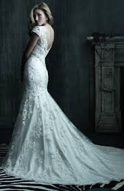 elegant collections of lace wedding dresses with long trains