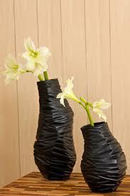 Buy Vases Online Buy Milano Black Textured Vases Vases Shop Decorative Vases