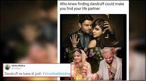 wedding gift meme virat kohli and anushka sharma s wedding pictures are now