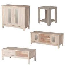 oak living room furniture ebay