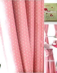 Pink Polka Dot Curtains Pink Spotty Curtains Www Elderbranch