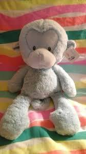 Meme Teddy Bear - baby g gund blue monkey rare soft htf meme plush stuffed animal