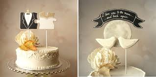 unique cake topper sweet unique cake toppers enchanted brides