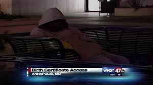 Maryland Vehicle Bill Of Sale by Maryland To Provide Free Birth Certificates To The Homeless Wmdt