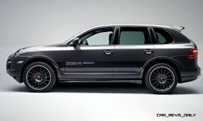 porsche cayenne turbo s 2007 concept flashback 2005 rinspeed chopster vs porsche cayenne turbo s