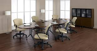 12 ft conference table 12 ft elliptical conference table with sculptured base and t mold