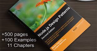 best node js books node js design patterns second edition by mario casciaro