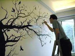 living room mural max design mural
