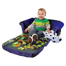 Flip Open Sofa For Kids by Marshmallow Flip Open Sofa Teenage Mutant Ninja Turtles Target