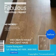 Wood Floor Scratch Repair Parquet Floor Scratches Damaged Repair Renovation Maintenance