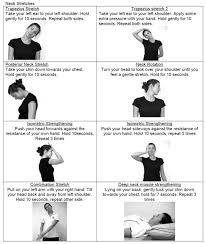 Neck Exercises At Desk Best 25 Neck Stretches Ideas On Pinterest Neck Pain Relief