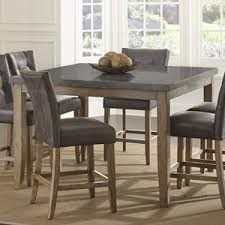 steve silver debby transitional rectangular dining table with