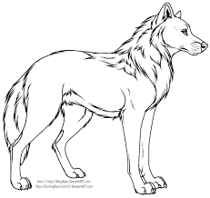 wolf profile coloring page google search coloring pages