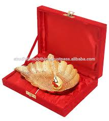wedding gift gold diwali gift gold plated gift item decorative gold serving bowl